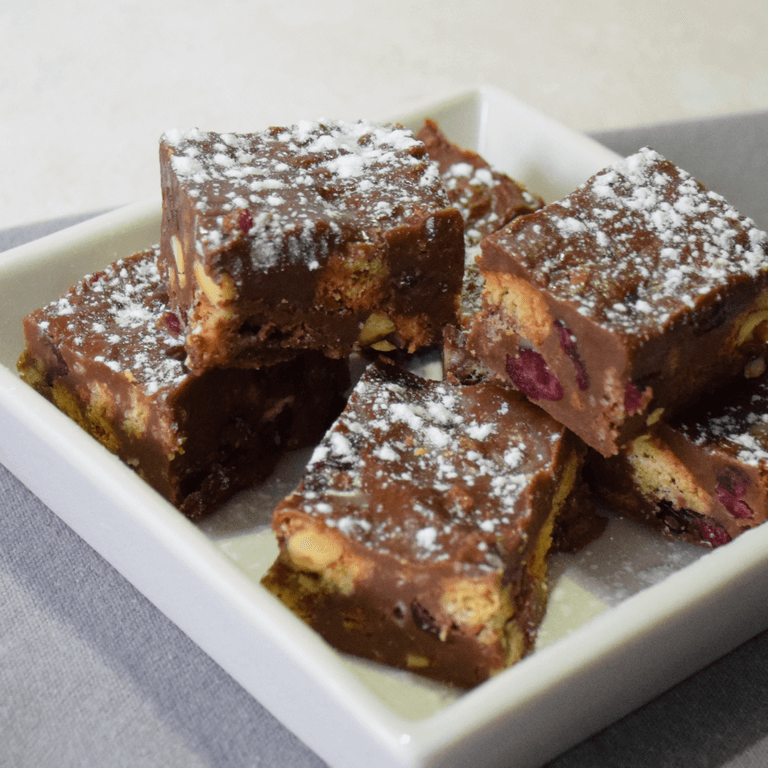Arden and Amici Cantuccini and Cranberry Chocolate Fridge Bites