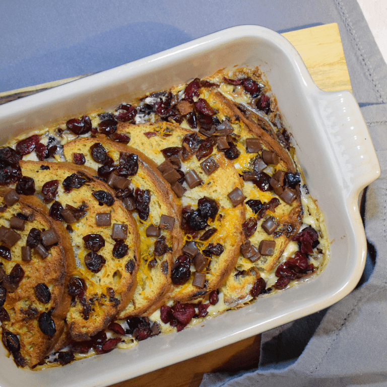 Panettone Bread & Butter Pudding-opt