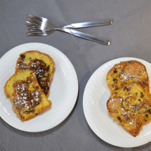 Arden and Amici Panettone French Toast