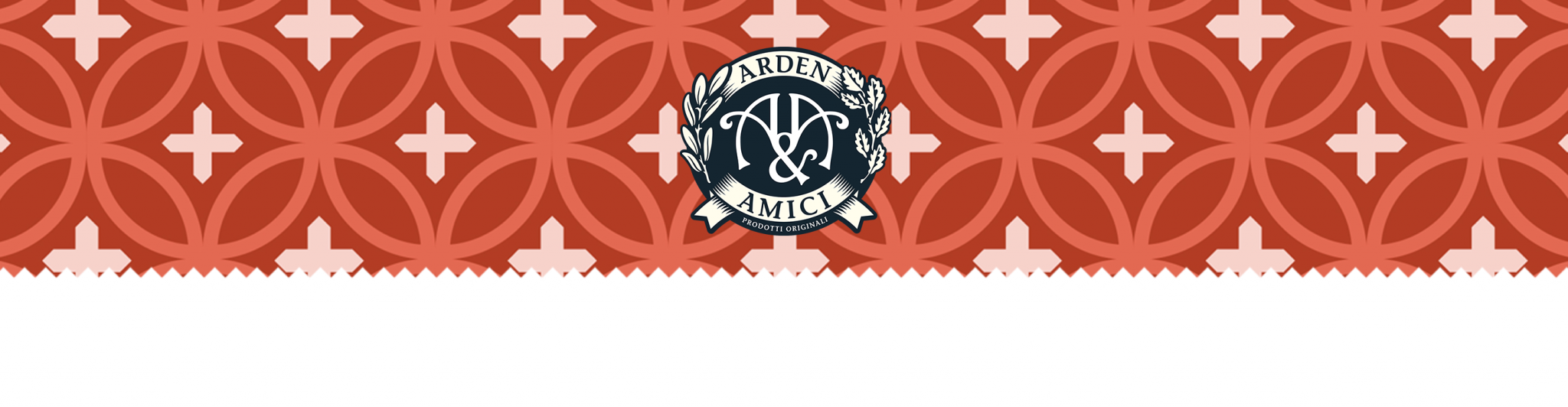 Arden and Amici header image and logo