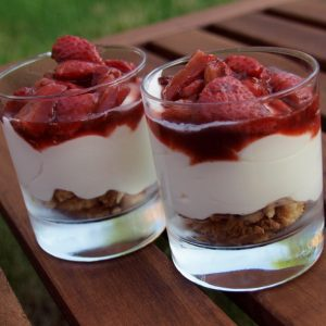 Arden and Amici Strawberry Trifle