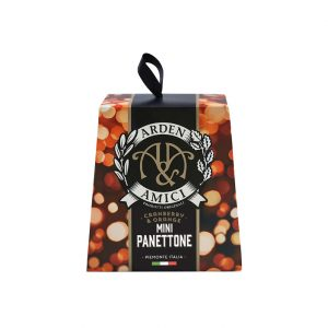 Mini Cranberry & Orange Panettone – 100g